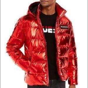 GUESS Men's Arctic Metallic Jacket